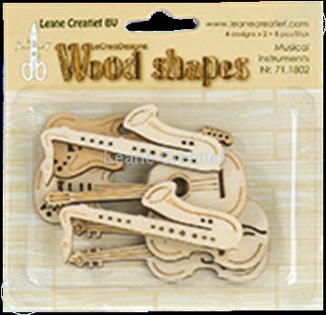 Bild von Woodshapes Musical instruments