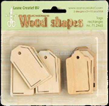 Bild von Woodshapes Tags rectangle