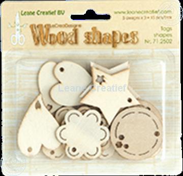 Bild von Woodshapes Tag shapes