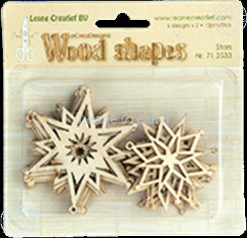 Bild von Woodshapes Stars