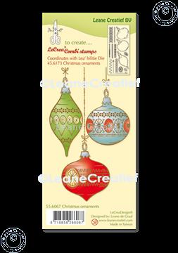 Bild von LeCreaDesign® Silikon Kombi Stempel  Weihnacht Ornamente