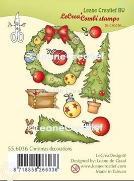 Bild von LeCreaDesign® Silikon Kombi Stempel  Weihnacht Dekoration