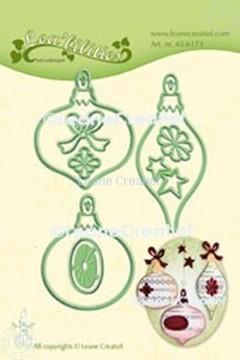 Bild von Lea'bilitie® Weihnacht Ornamente  Präge- und Schneideschablone