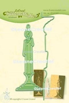 Bild von Lea'bilitie® Kerze Silhouette Präge- und Schneideschablone