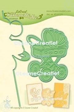 Bild von Lea'bilitie® Kinderwagen  Silhouette Präge- und Schneideschablone