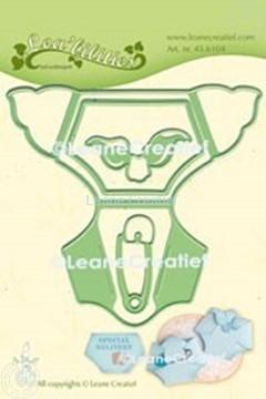 Bild von Lea'bilitie® Baby Windel Präge- und Schneideschablone