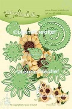 Bild von Lea'bilitie® Multi die 019 Sonnenblume  3D  Präge- und Schneideschablone