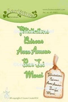 Bild von Lea'bilitie® Französische Texte Schneideschablone